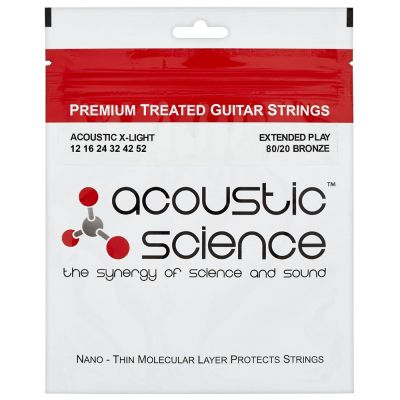ACOUSTIC SCIENCE BRONZE 12-52 Струны для гитар акустик